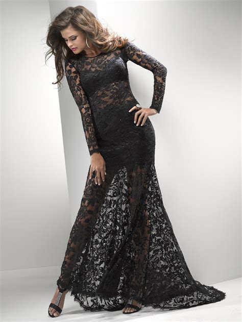 Long Sleeve Lace Prom Dresses | long sleeve prom dresses dressed up girl