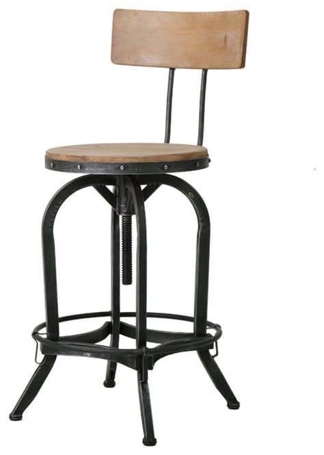 bar stool photos gdfstudio hartley adjustable bar stool reviews houzz