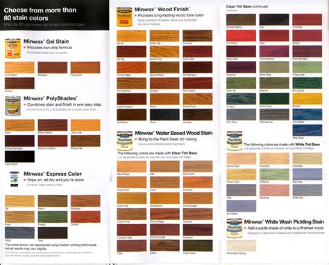 varathane wood stain color guide brown hairs