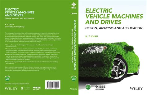 handbook of automotive power electronics and motor drives electrical and computer engineering books dr k t chau