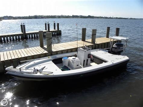 bc flats boats for sale 1992 used dolphin 18 backcountry flats fishing boat for
