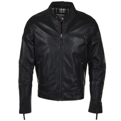Troy Company Wallet Troy Company mens leather biker jacket black troy leather jackets