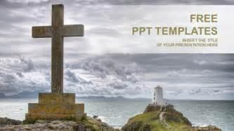 catholic powerpoint templates catholic cross religion ppt templates
