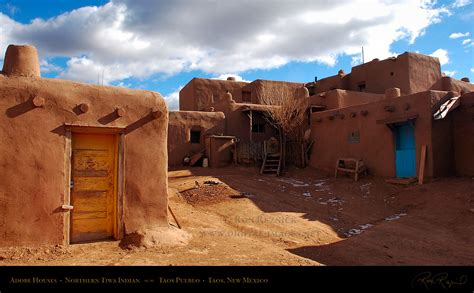 adobe homes taos pueblo unesco world heritage site