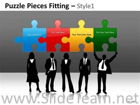 powerpoint themes human resources human resource development puzzle powerpoint slides