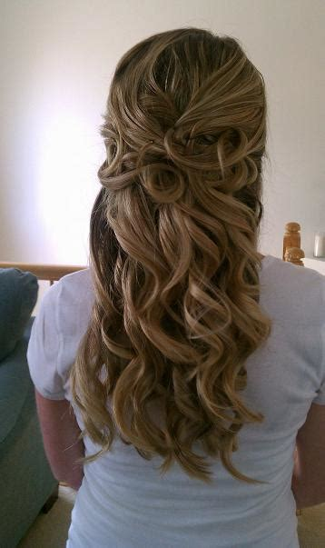 wedding hair up and curly half up curly wedding hair hairstyles how to
