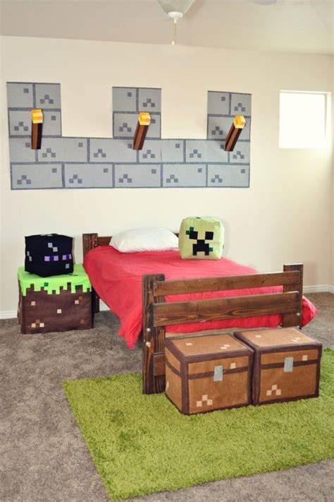 cool minecraft bedrooms how to make bedroom furniture in minecraft woodworking