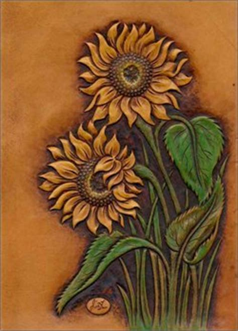 leather sunflower notebook cover favecraftscom
