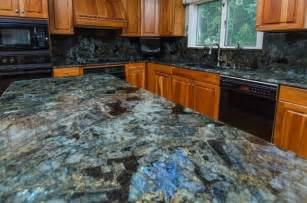 Decorative Kitchen Backsplash Tiles Lemurian Blue Labradorite Kitchen With Full Backsplash
