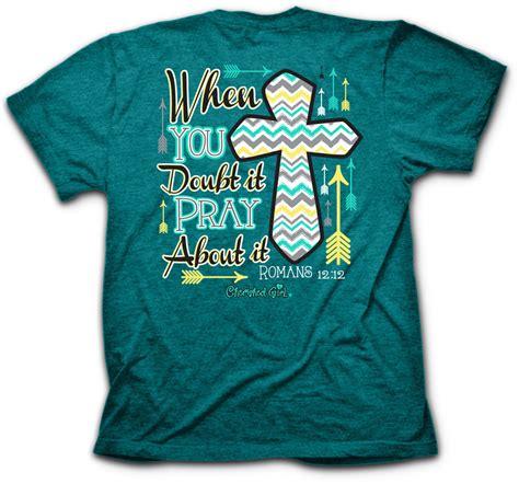 Pray Tshirt 1 kerusso cherished christian pray about it womens