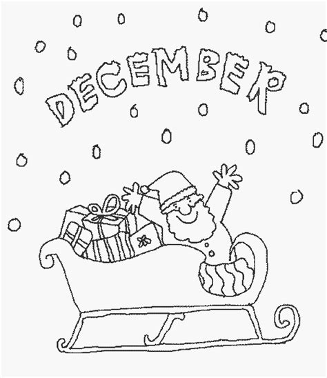 december calendar coloring pages december free printable calendar coloring pages