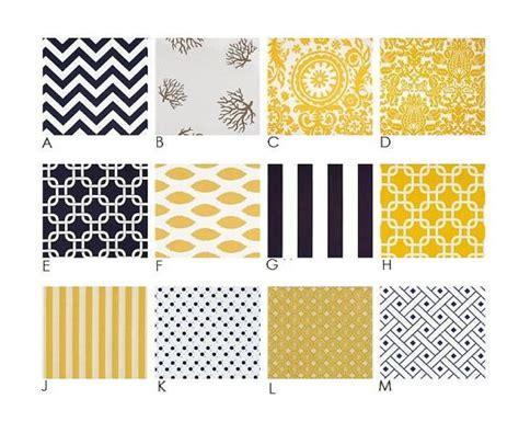 nautical yellow and navy stripes chevron modern