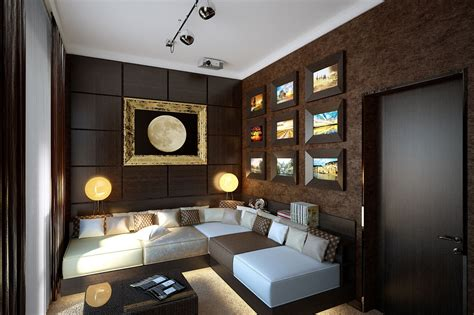 Lounge Room Decor | brown snug lounge decor interior design ideas