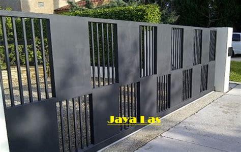 contoh pagar besi minimalis images rumah minimalis