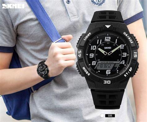 Jam Tangan Casio Original Skmei Casio Sporty Waterproof Digital skmei jam tangan sporty pria ad1065 blue