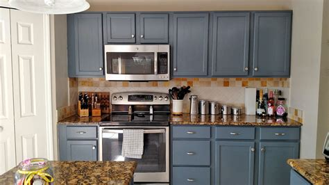 Kitchen Cabinets Red And White by Kitchen Makeover In Gray Gel Stain General Finishes