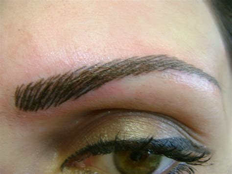 temporary eyebrow tattoo eyebrow tattoos designs
