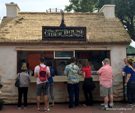 cider house 2017 epcot flower and garden festival outdoor kitchens menus and food photos the