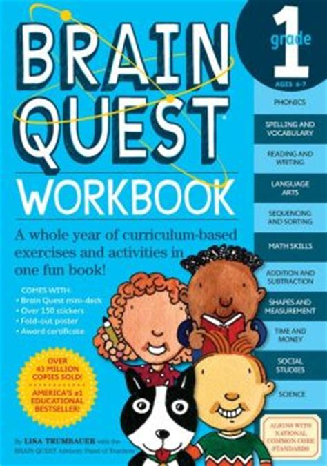 brain quest workbook grade 1 by trumbauer 9780761149149 other format barnes noble