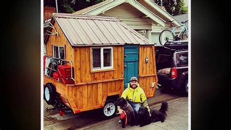 pop up tiny house fabulous tiny house on wheels from converted pop up
