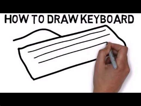 how to use doodle with keyboard how to draw keyboard