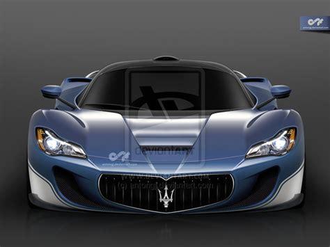 Ferrari LaFerrari based Maserati supercar rendered