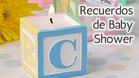 40 ideas recuerdos para baby shower hd
