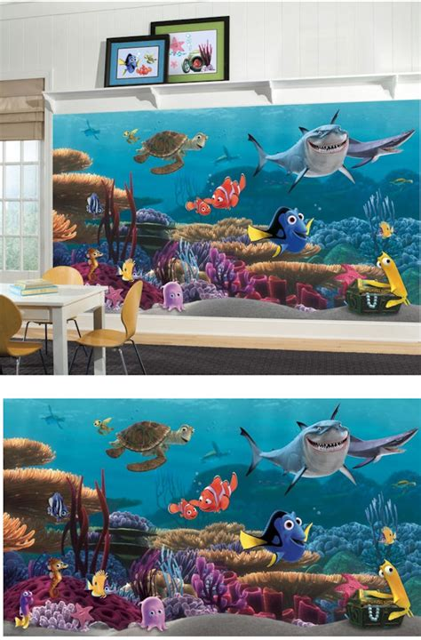 Wall Stickers For Kids Bedroom finding nemo xl mural