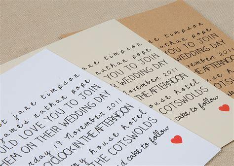 Handwritten Letter Wedding Invitation Wedding Invitations For Modern Weddings Etsy Wedding Finds Handwritten Onewed