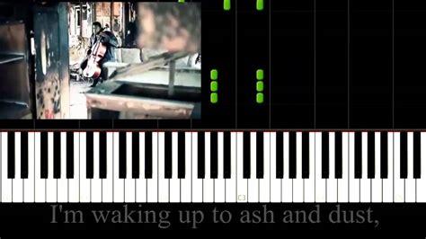 tutorial piano radioactive radioactive lindsey stirling and pentatonix piano cover
