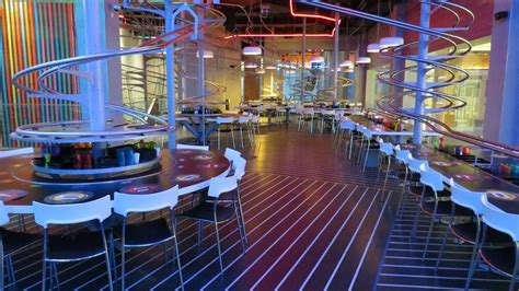 roller cuisine roller coaster restaurant will take you for a loop eater