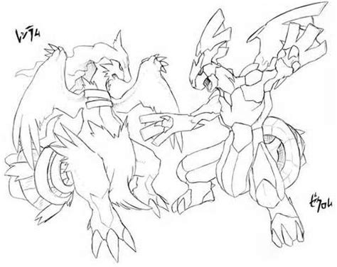 pokemon coloring pages zekrom pokemon coloring pages of zekrom and reshiram