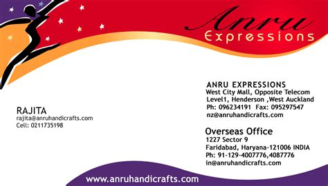 business card template two addresses business cards heather912