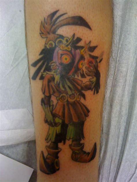majin tattoo majora s mask skull kid tattoos kid