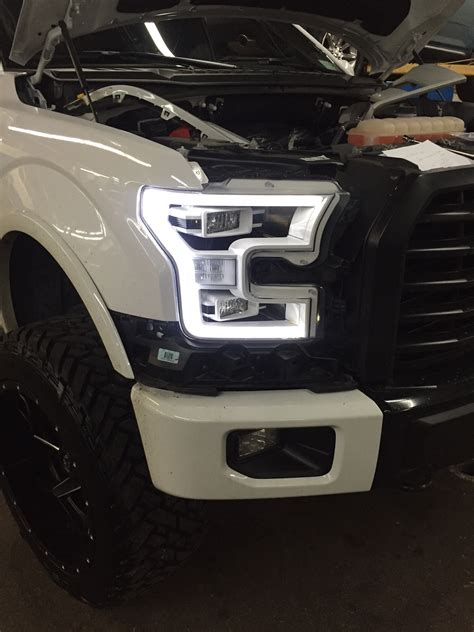 led lights for ford f150 daveantonio92 s build 2015 f150 22x12 on 35 quot retrofit