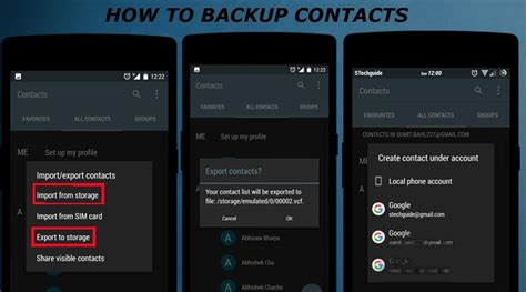 how to backup contacts on android how to backup your android phone without root