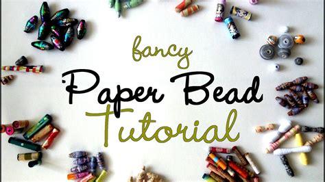 Paper Jewellery Tutorials - fancy paper tutorial