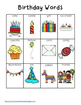 the vocabulary guide anglais 17 best ideas about birthday words on happy birthday words punch art cards and 1st
