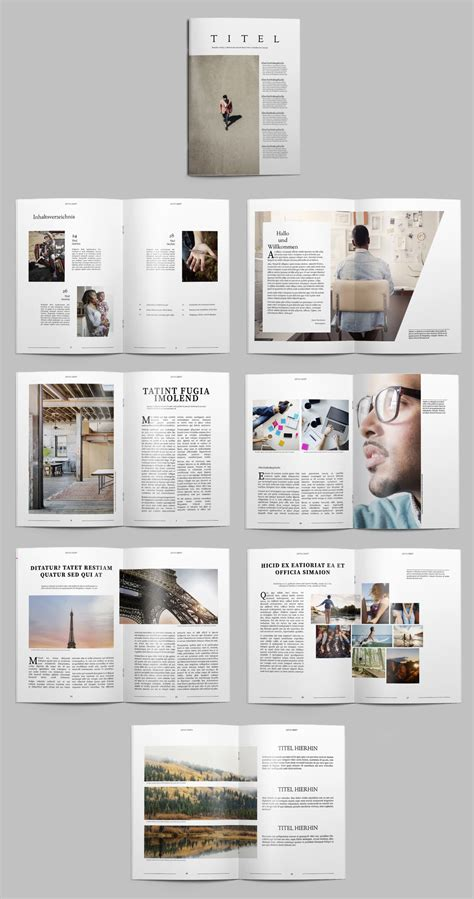 Layout Indesign Vorlagen | kostenlose indesign vorlagen f 252 r magazine creative blog