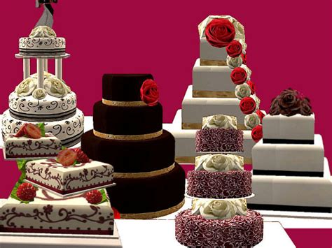 Wedding Cake In The Sims 4 by Mod The Sims A Day To Remember The Six Wedding