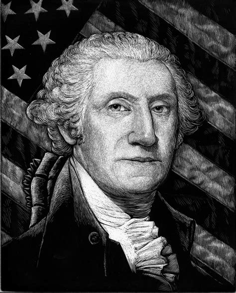 background george washington russ mcmullin george washington with american flag