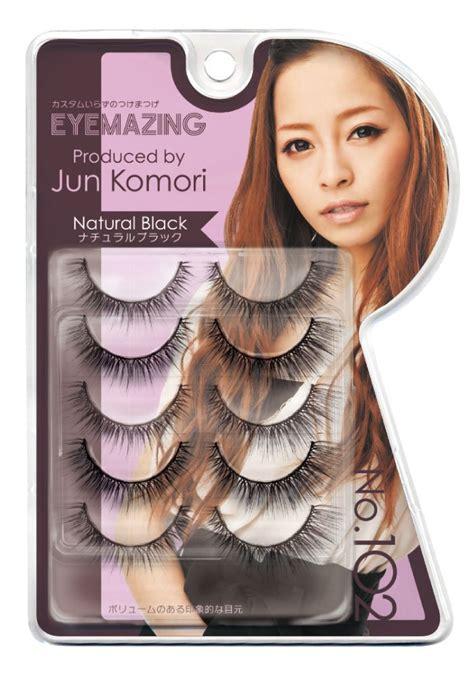 Eyemazing Eyelash No 102 5 Pairs gc labo eyemazing jun komori false eyelashes