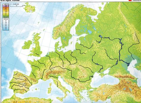 best map of blank physical map of europe roundtripticket me
