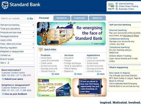 standard bank south africa new banking standard bank south africa autos post