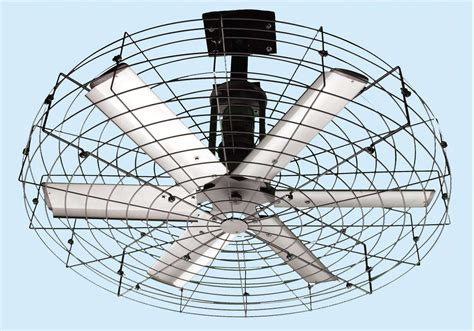 Industrial Ceiling Fans With Light Ceiling Fans With Lights Caged Fan Outdoor Throughout Industrial Light 81 Fascinating