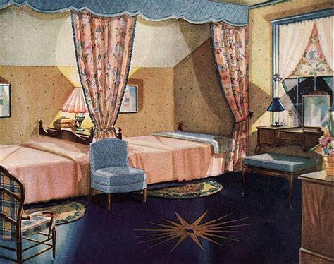 1920s Bedroom by 1920s Bedroom With Linoleum Floor Design I