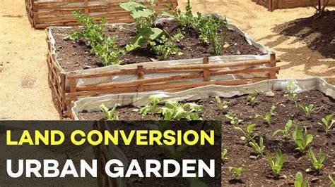 urban gardening   philippines  land conversion