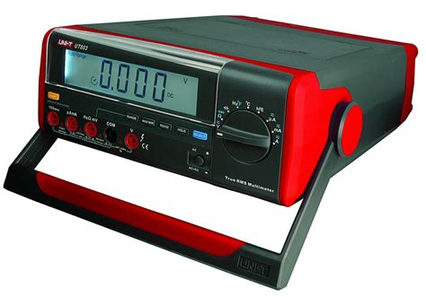 digital bench multimeter bench type digital multimeter uni t ut803 uni t