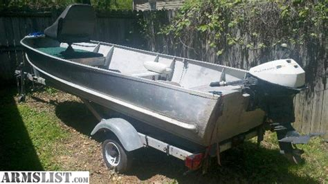 14 v bottom aluminum boat armslist for sale trade 14 v bottom aluminum fishing boat