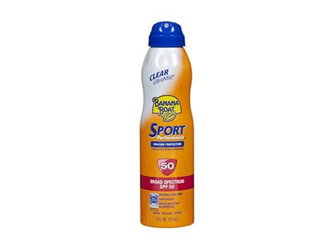 Banana Boat Ultramist Sport Spf50 175ml 1 banana boat ultramist sport sunscreen spf 50 6 oz pack of 8 ingredients and reviews